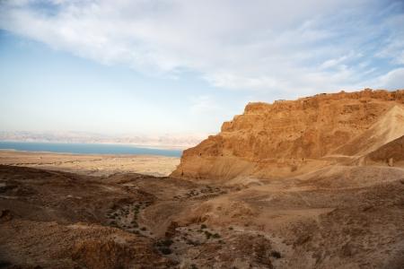 masada: Masada and Dead sea in Israel travel world heritage site
