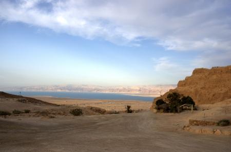 masada: Masada and Dead sea in Israel travel