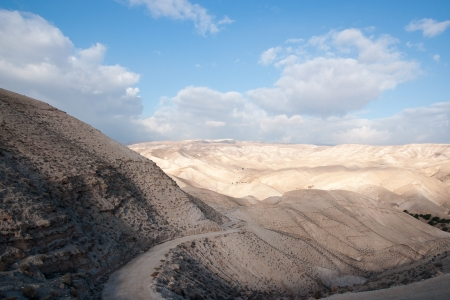 judean: Wadi celt judean desert travel attraction in Israel