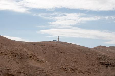 celt: Wadi celt judean desert monastery cross