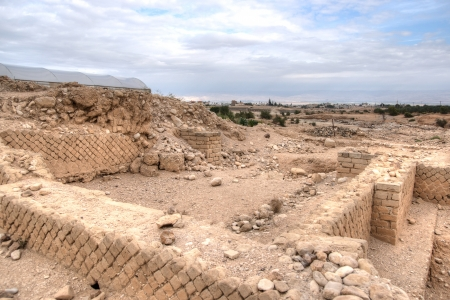 Excavations near Jericho city of ancient palace