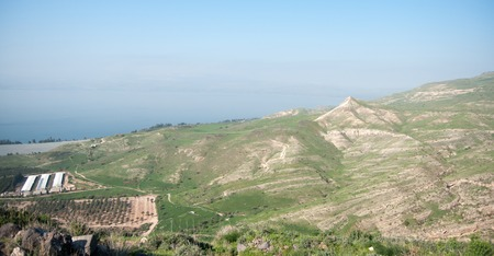 Travel in galilee of israel nature landscape tourism photo