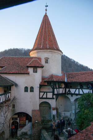 bran: Castle in Bran, Transilvania, where Dracula lived
