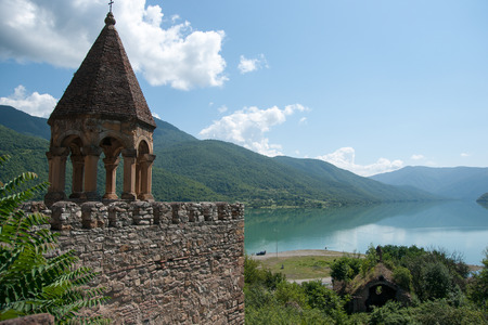 tourist attractions: Tourist attractions in Georgia in vacation summer travel Editorial