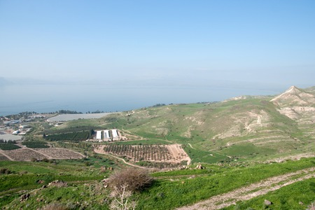 Travel in galilee of israel nature landscape tourism