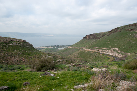 galilee: Travel in galilee of israel nature landscape tourism