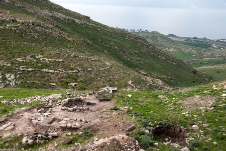 mideast: Travel in galilee of israel nature landscape tourism