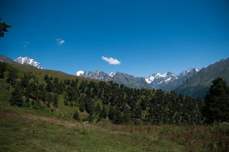 svaneti: Nature and travel in Georgia svaneti region mountain