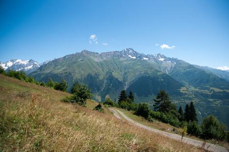 kavkaz: Nature and travel in Georgia svaneti region mountain