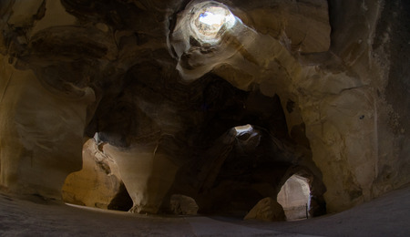 mideast: Handmade and natural stone caves in Middle East