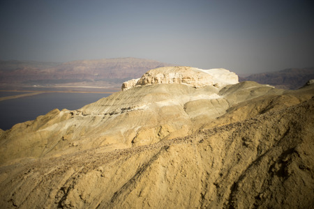 judean desert: Travel near dead sea in judean desert of Israel