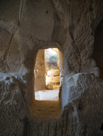 attraction: Archeology attraction ancient caves settlement in Israel
