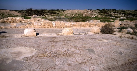 mideast: Ancient ruins in Israel history time travel