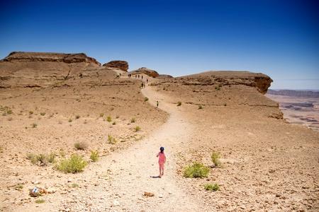 mideast: People hiking for health in israeli desert travel