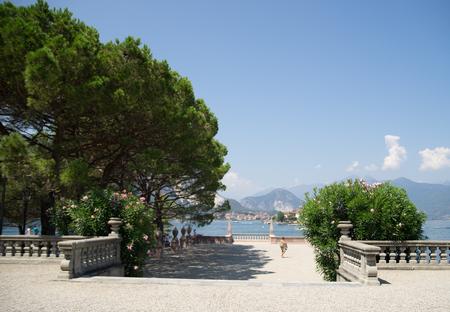 bella: Italian cultural heritage in borromeo island isola bella Stock Photo