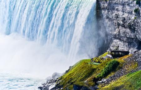 ホースシュー秋、ナイアガラの滝、オンタリオ州、カナダ