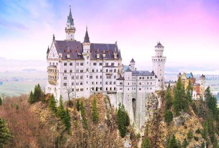 ludwig: Neuschwanstein Castle in Germany. Editorial