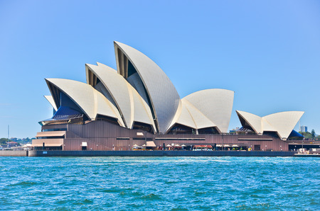 Sydney Opera House in a sunny day Editorial