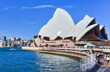 opera house: Sydney Opera House in a sunny day Editorial
