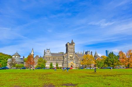토론토의 가을 토론토 대학의 캠퍼스