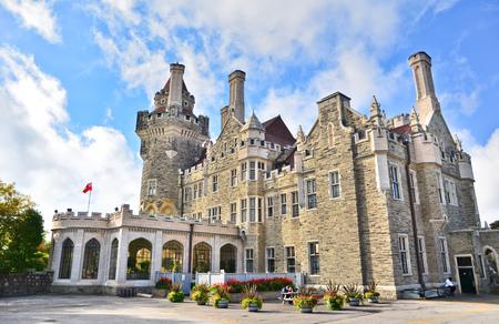 ontario: Casa Loma in Toronto, Ontario, Canada.