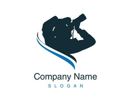photographer logotype Çizim