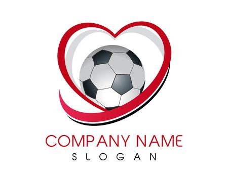 Love soccer icon