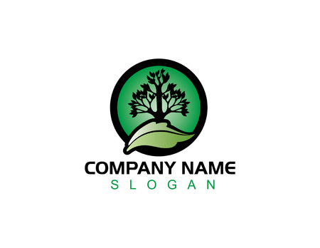 Landscaping logo 版權商用圖片 - 68179689