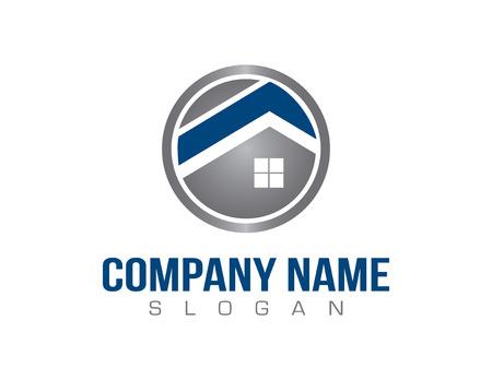 house painter: Construction logo Illustration