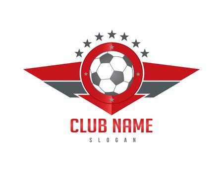 soccer: Soccer red wings shield