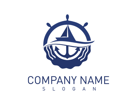 Marine concept logo