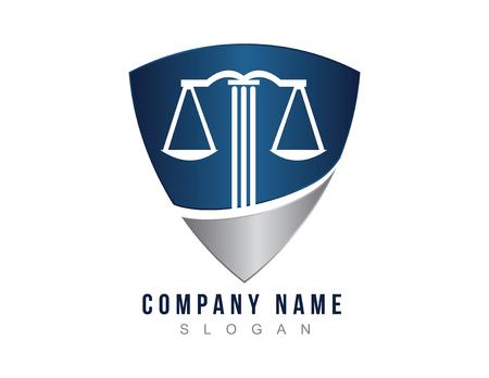 Lawyer shield logo