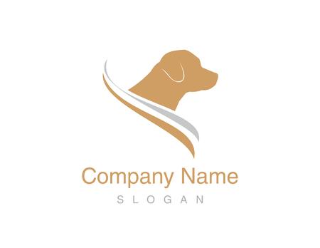 dog: Labrador logo Illustration