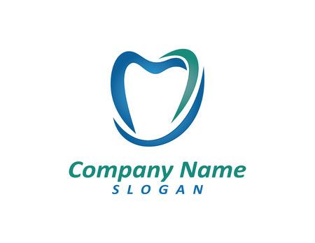 Logo del dentista 2 Archivio Fotografico - 80394816