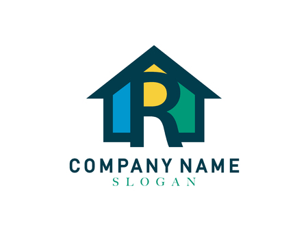 Home letter R design