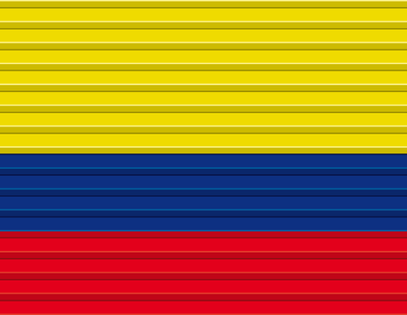 colombian: Colombian flag vector Illustration
