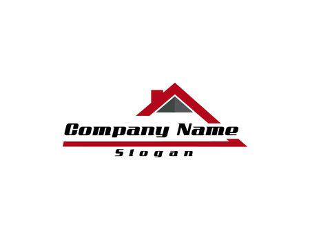 real estate logo 4  イラスト・ベクター素材