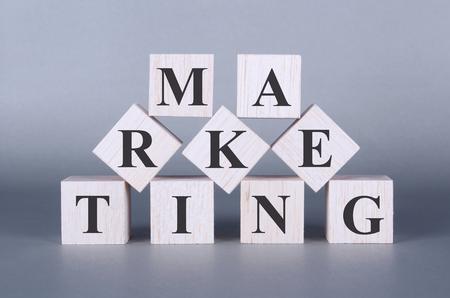 satisfied customer: Marketing Word cubes photo
