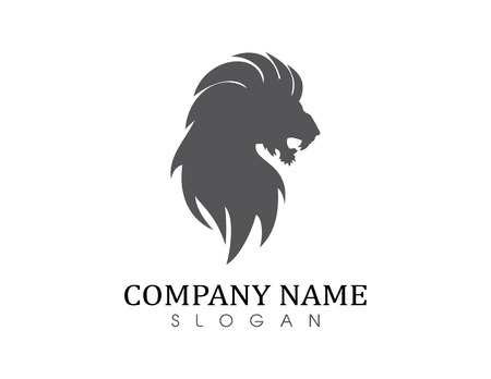 Lion solid logo