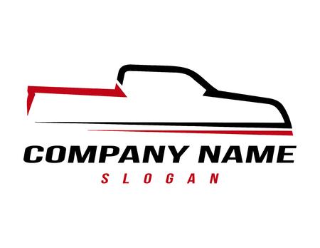 Logotipo del camión deportivo