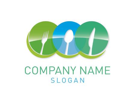 Restaurant vector logo Иллюстрация
