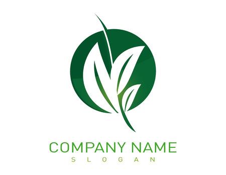 Landscaping logotype Ilustração
