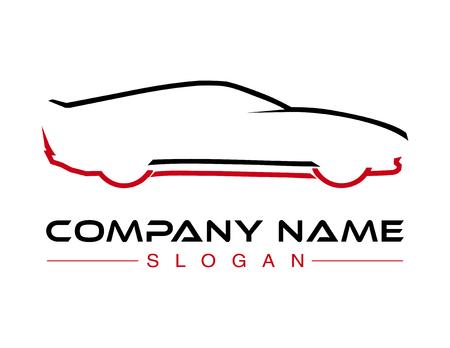 Logotipo del coche Foto de archivo - 80942871