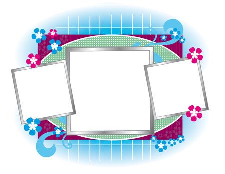 Cute empty frame design
