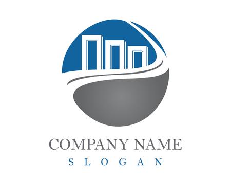 Financial logotype Illustration