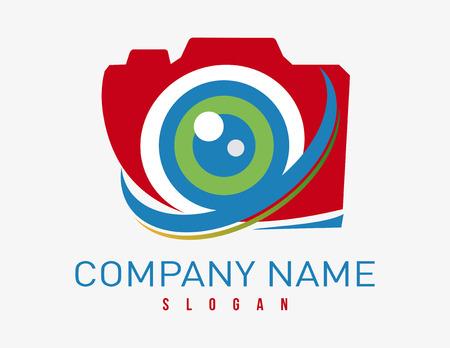 Logo photographer Ilustração