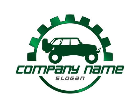 Jeep design Illustration