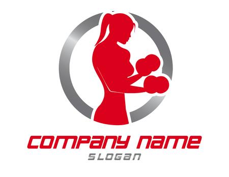 Gym woman design