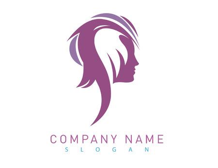 manicurist: Profile woman logo