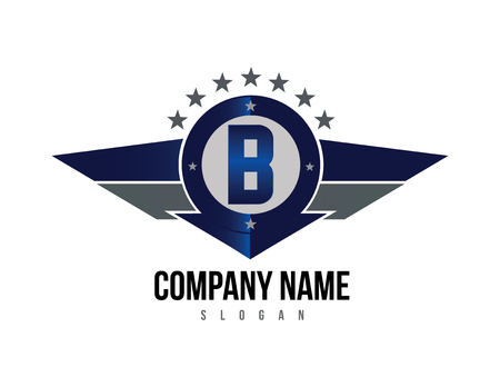 Letter B shield logo